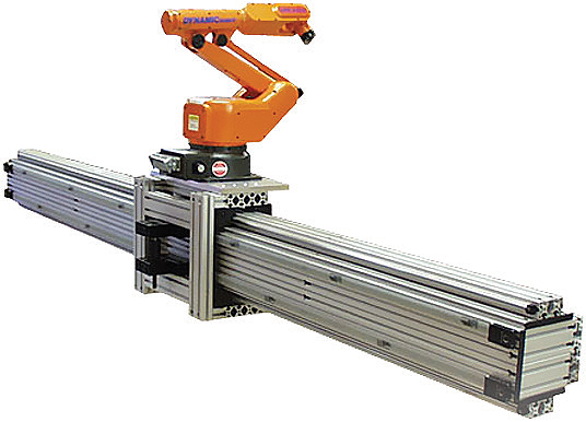 Designing Seventh Axis Linear Motion Tracks For Robotic